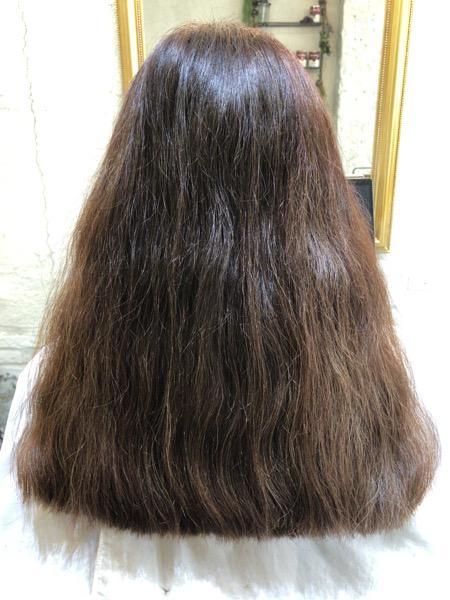 髪の【素材】を綺麗にするaimyの髪質改善